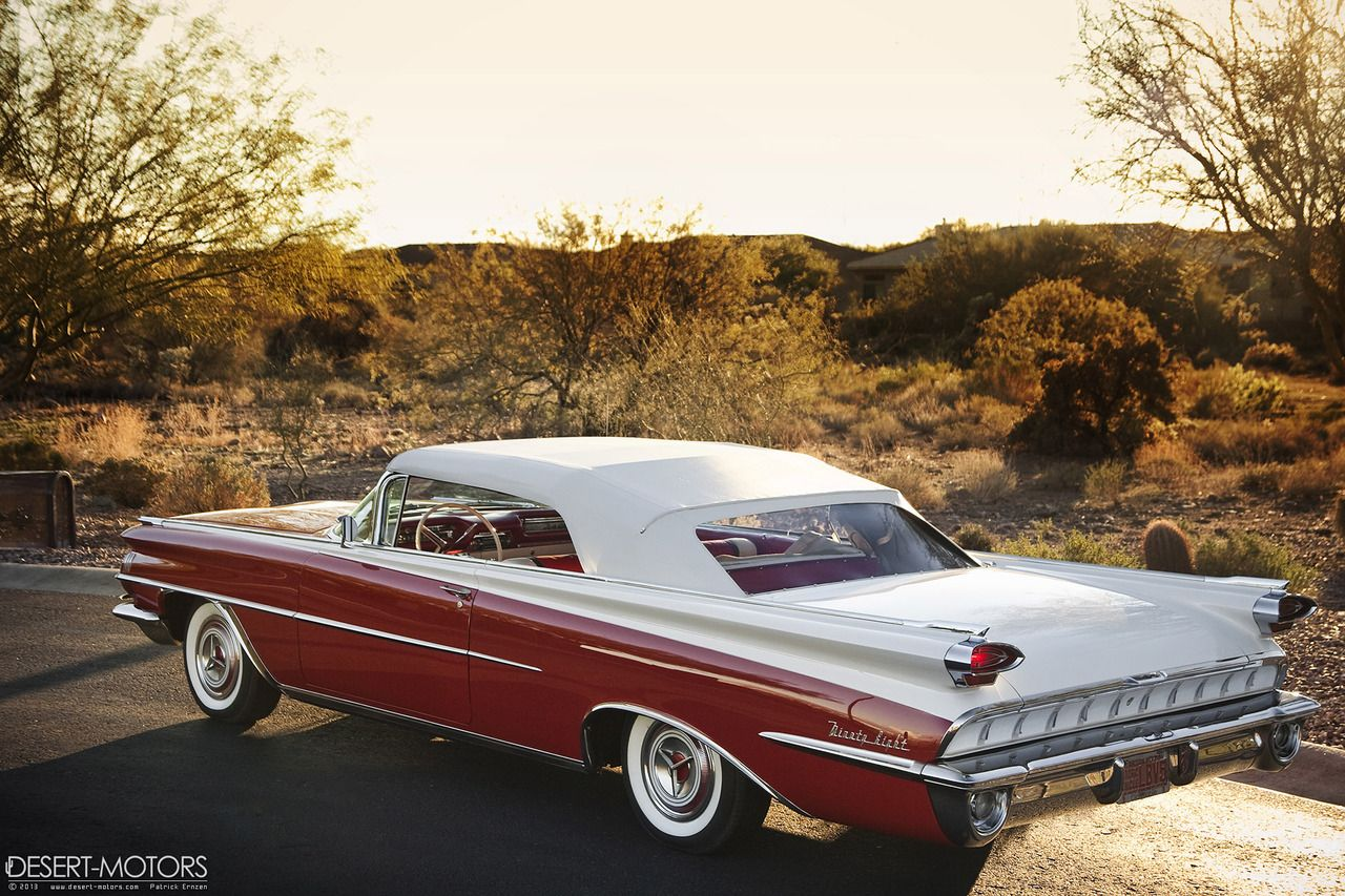 1959 Oldsmobile Ninety-Eight Convertible ::: My Chevy was (for several  weeks) refinisd in the collors red-grey. But I refinished it the secound  time in the ...
