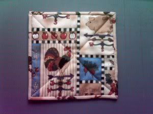 Free potholder pattern. | Sewing Projects | Pinterest | Free ... : quilted potholder pattern free - Adamdwight.com