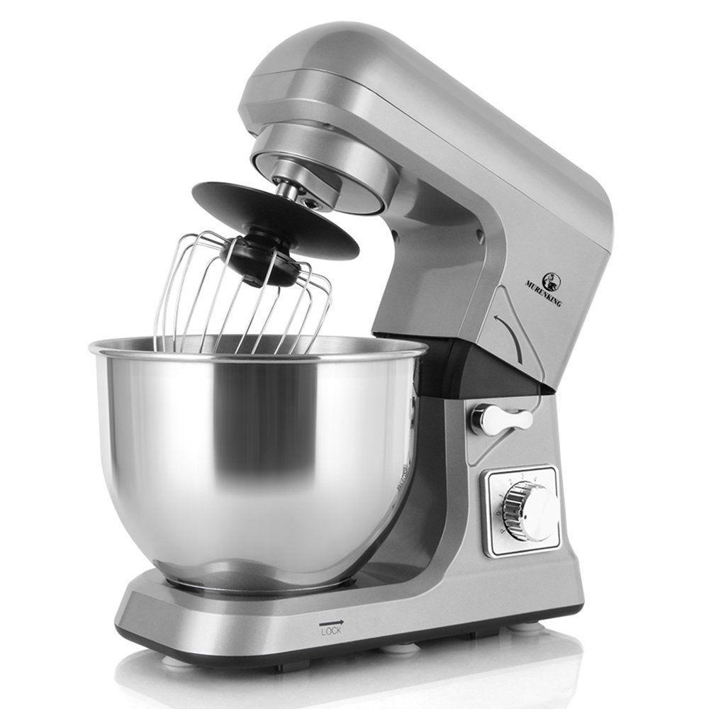 Food stand mixer mixing bowl beater splash guard dough