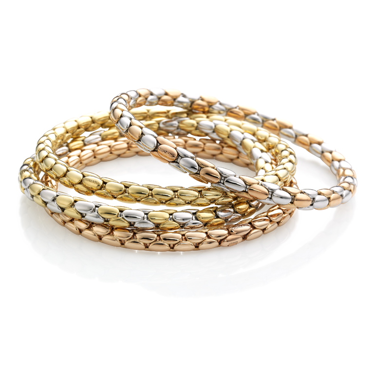 Stretch Spring Chimento Jewellers Golden Rings Bracelets