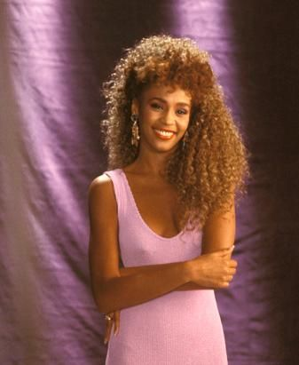 Gorgeous. If it is possible to have timeless beauty while still being fashionable in the '80s, Whitney did it.