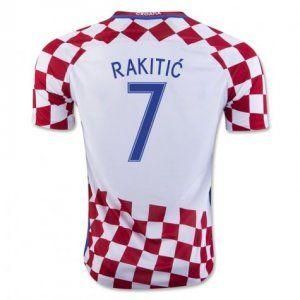 2016 croatia national team rakitic 7 home soccer jersey
