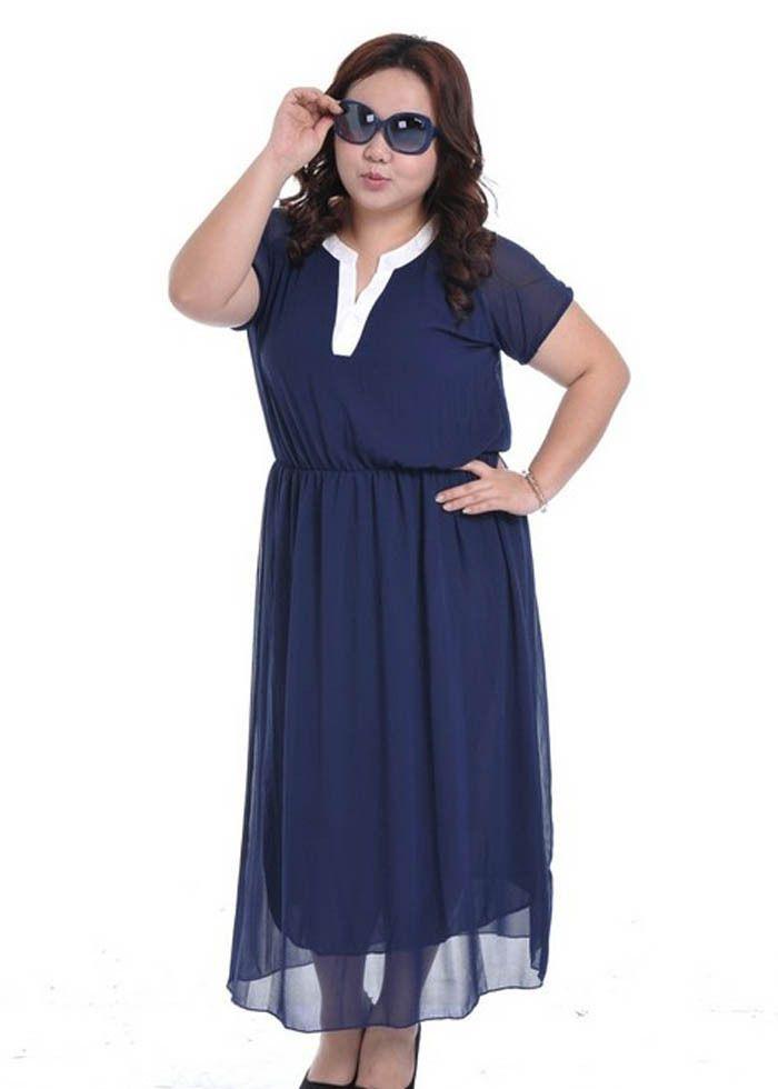 long dresses for fat girls | Tempat untuk Dikunjungi | Pinterest ...