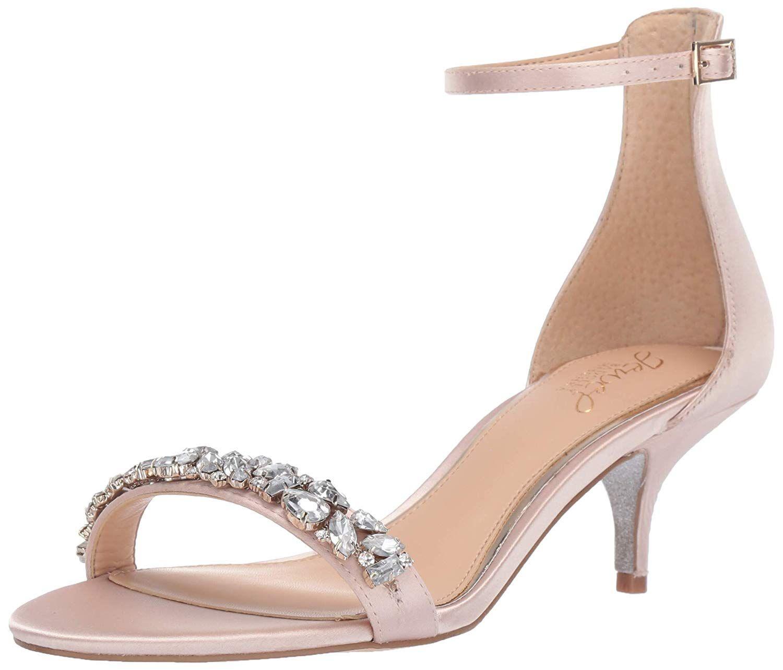 Amazon Com Badgley Mischka Jewel Women S Dash Gateway Heels Sandals Heels Kitten Heel Sandals
