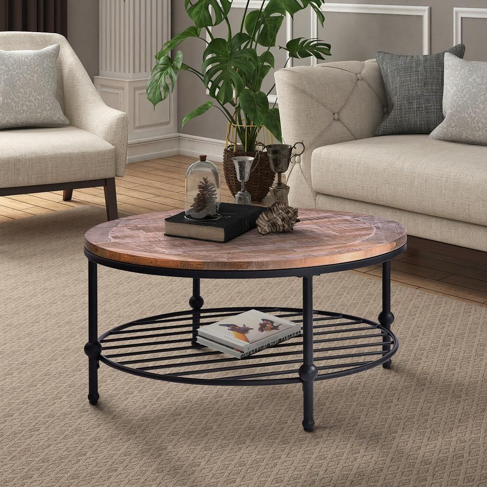 49+ Wayfair round coffee table with storage trends