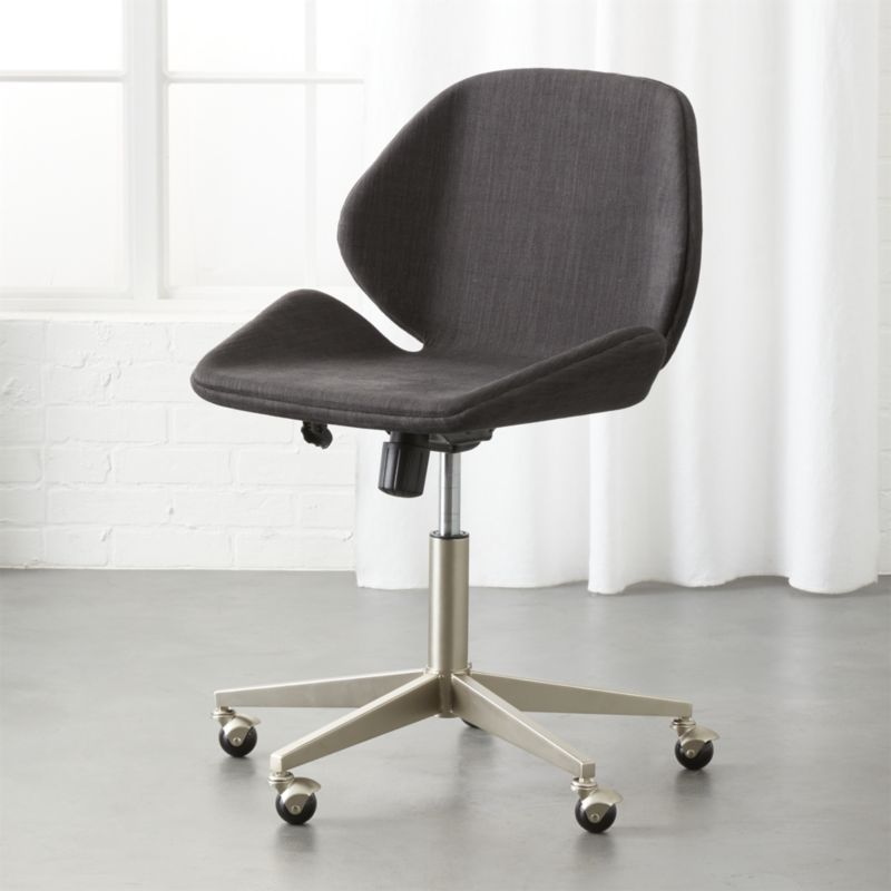 Milton Grey Office Chair Stylish Desk Mate Supports You All Day Wred In