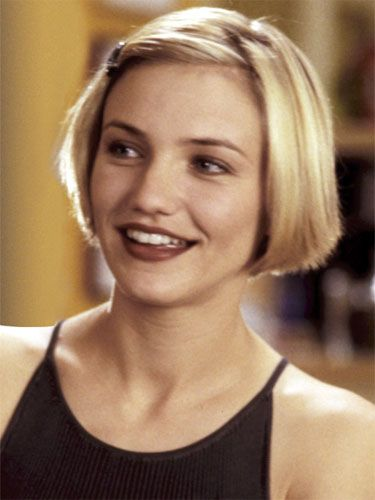 The Most Iconic Hairstyles Of All Time Cameron Diaz Short Hair Hair Styles Short Hair Styles