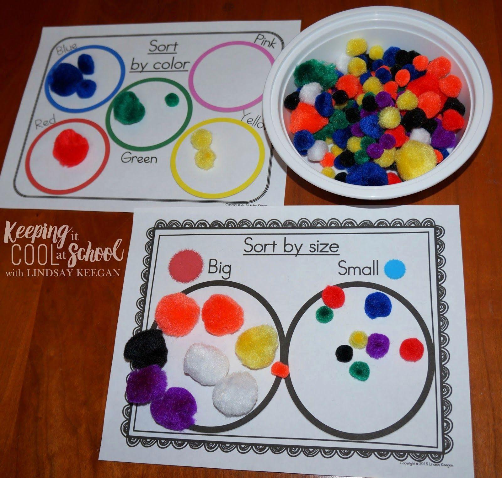 Sorting Worksheets For Preschool Math Centers Kindergarten Preschool Centers Preschool Math Centers [ 1524 x 1600 Pixel ]