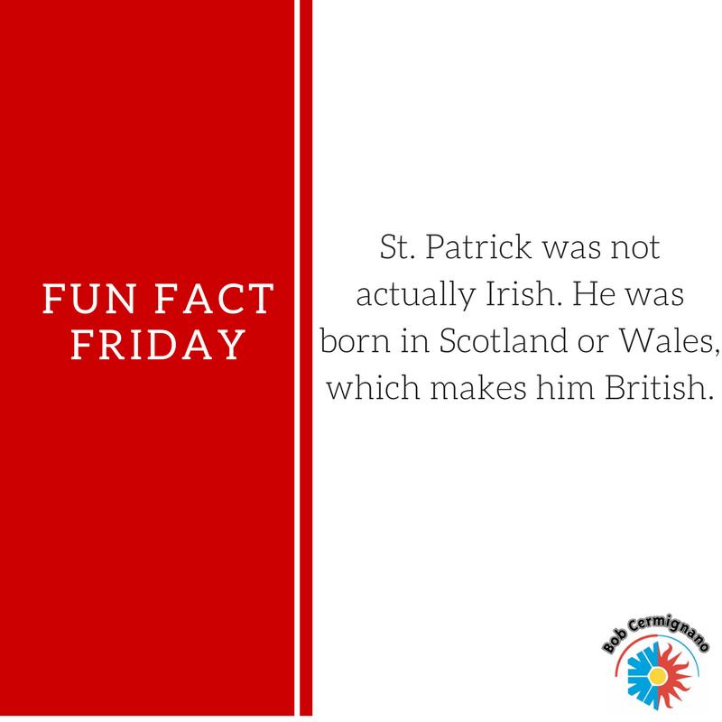 Fun Fact Friday March 17 2017 Fun Fact Friday Fun Facts