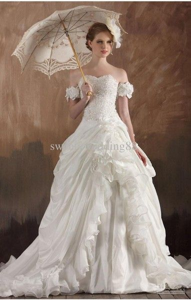 Victorian Wedding Dress More