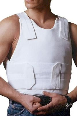 Bullet Proof and Stab Proof Vest Concealed Level IIIA SP1