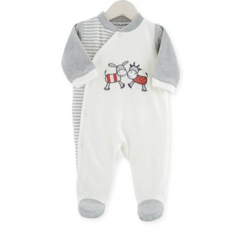 eade02b41a706 Pyjama naissance Vache   Âne