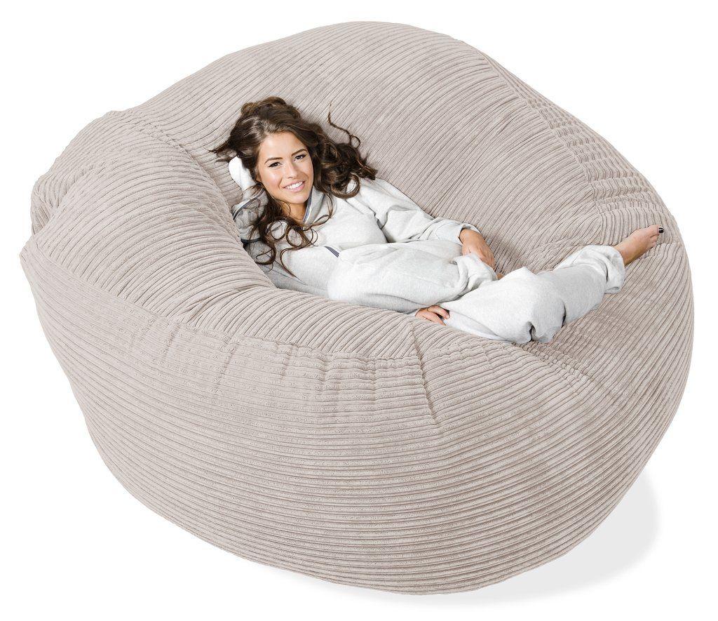canap pouf g ant grande mammouth c tel cr me wish list pinterest pouf g ant. Black Bedroom Furniture Sets. Home Design Ideas