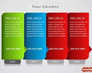 free creative timeline powerpoint template is a cool presentation