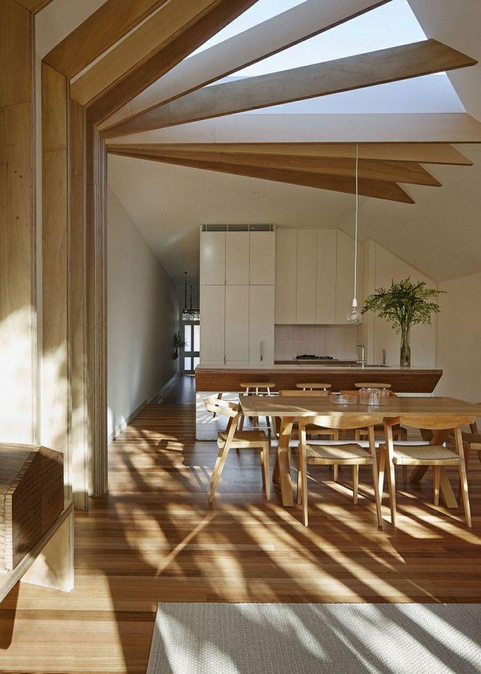 moderne einrichtung viktorianisches haus offener wohnraum - Modernes Wohnzimmer Im Viktorianischen Stil