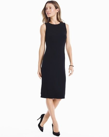 a7e7caacd0 Women s Reversible Sleeveless Knit Sheath Dress by White House Black Market