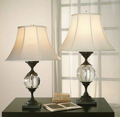 Currey Coventry 6000 0354 Lamp Crystal Orb Table Lamp