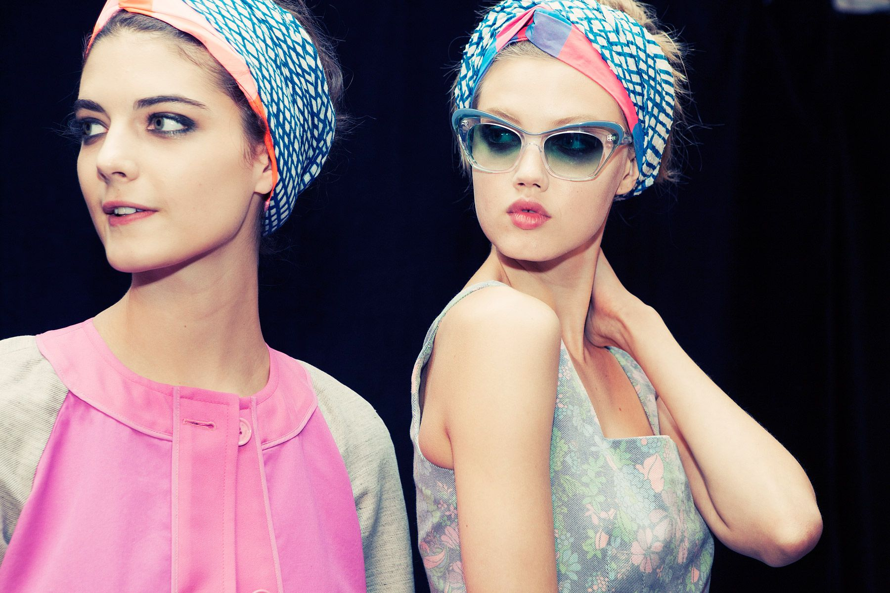 turbans at Marc Jacobs