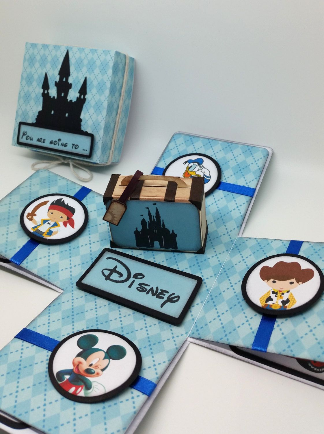 You are going to Disney - Surprise trip - Travel Theme - Suitcase ...