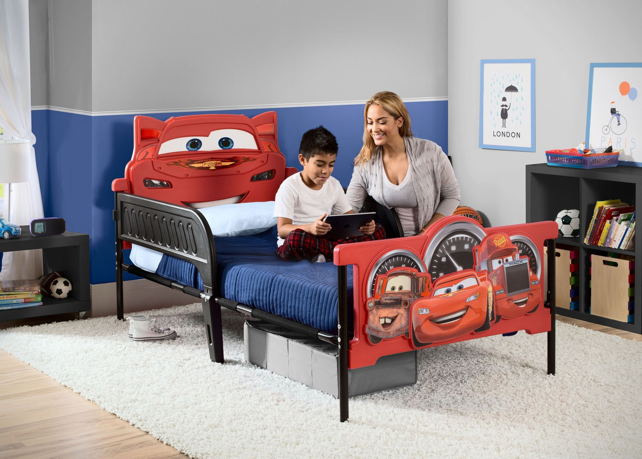 Give Your Boys Room A Tune Up With Disneypixars Cars