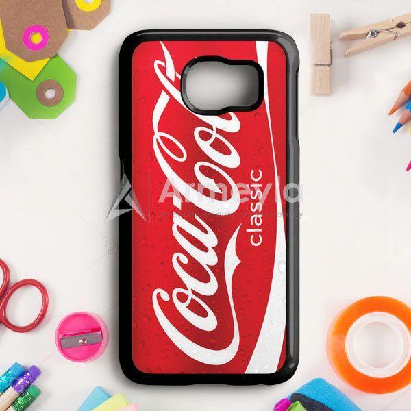 Coca Cola Red Can Samsung Galaxy S6 Case | armeyla.com