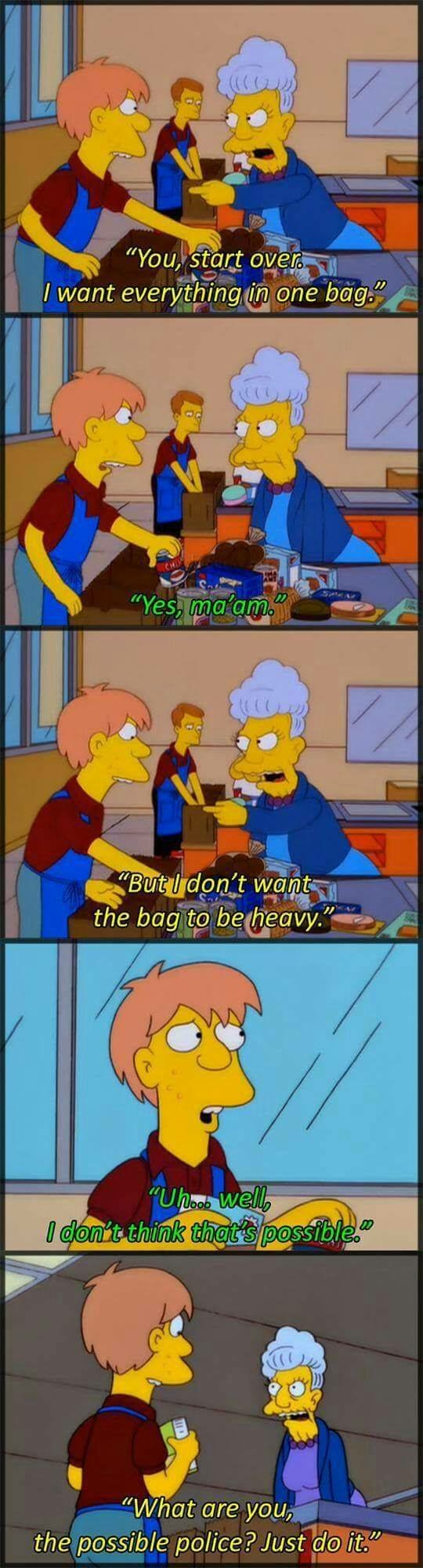 The Simpsons The Simpsons Simpsons funny, The simpsons