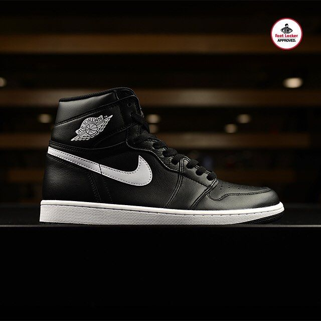 0fca59fe738ab2 The Black White Air  Jordan 1 Retro High OG arrives in stores and online  Saturday. Release Details  footlocker.com launch