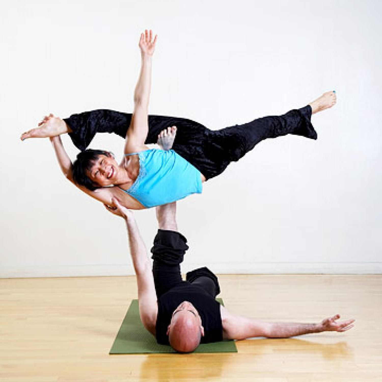 Meredith  Hard yoga poses, Advanced yoga, Two people yoga poses