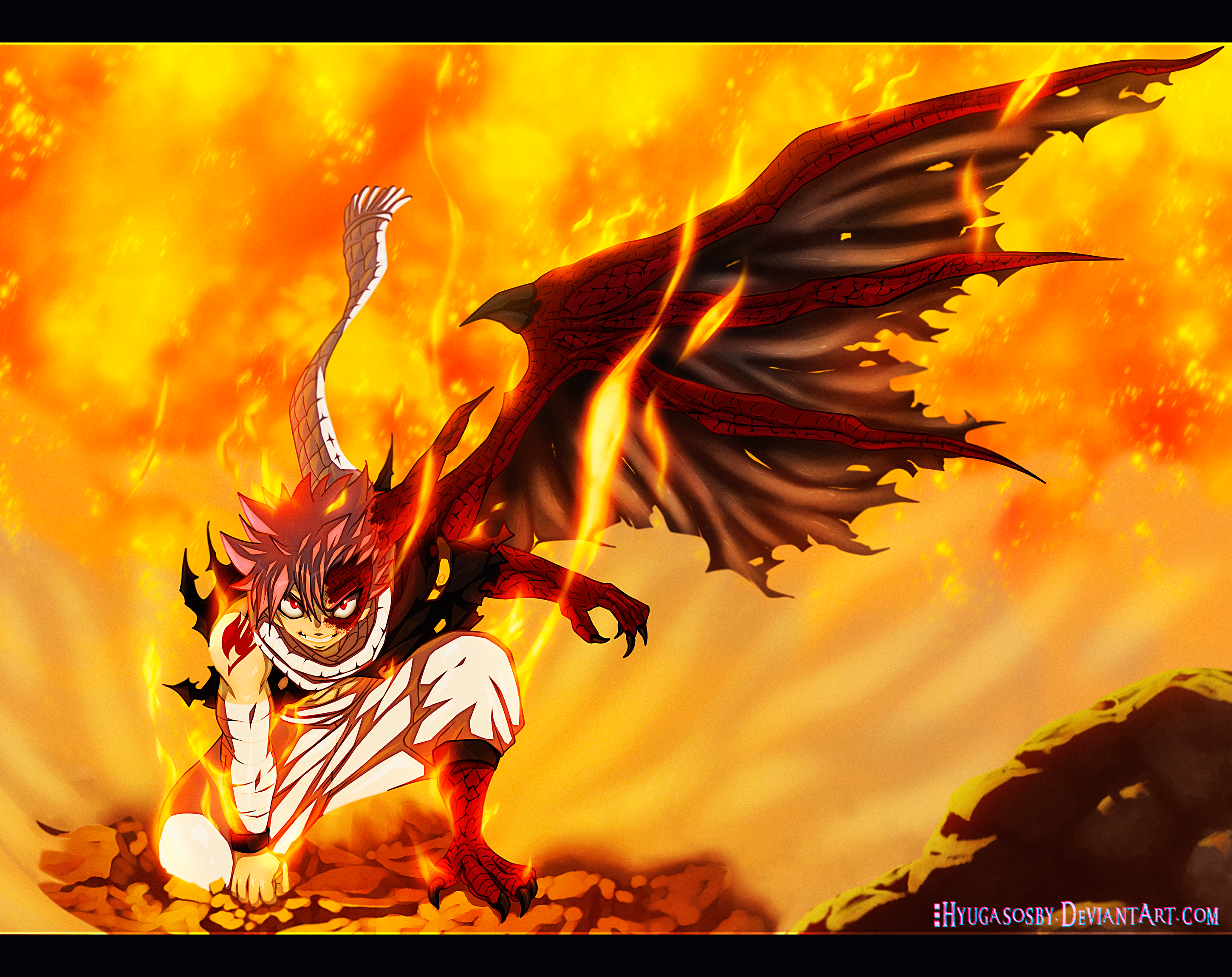 Natsu Dragonize! Victory Shout Fairy Tail 435 Daily