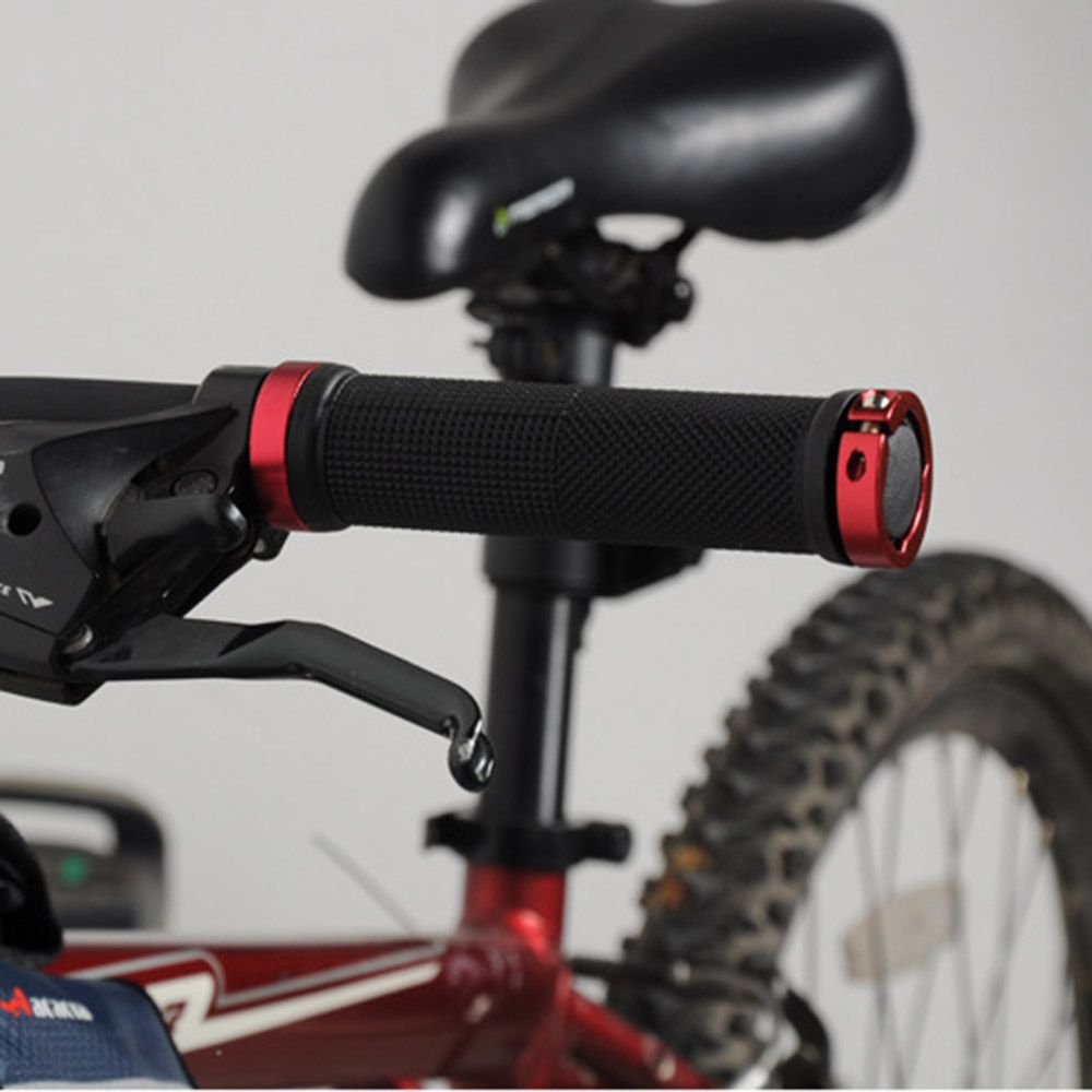 1 Pair Cycling Lockable Handle Bicycle Grips For Bike Bicycle Mtb