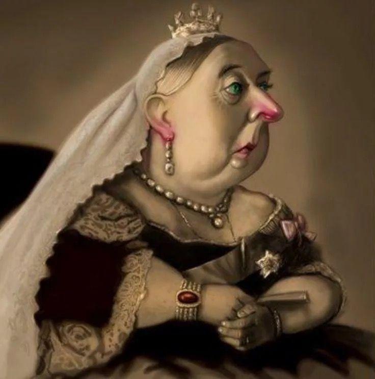 Пожелания, картинка королевы прикол