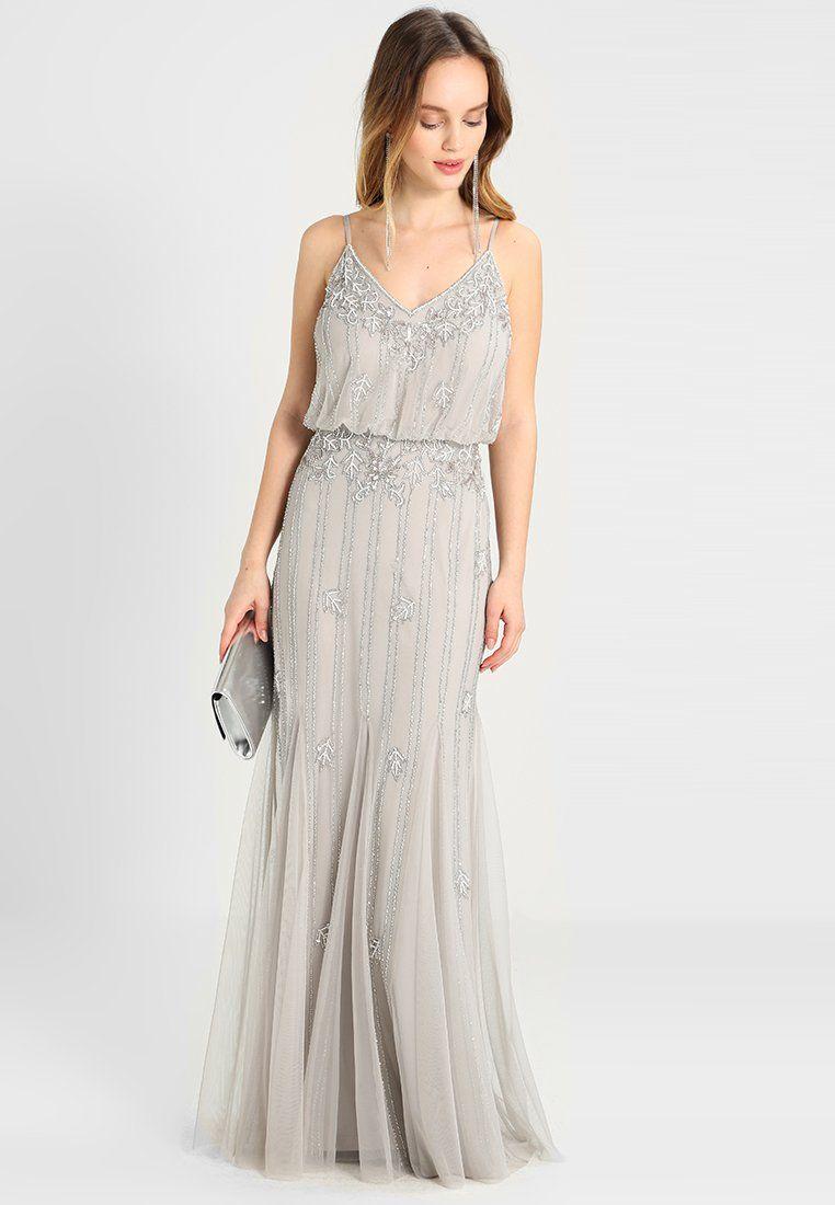 Vêtements Lace   Beads Petite KEEVA MAXI - Robe de cocktail - light grey  gris clair  129,95 € chez Zalando (au 13 01 18). Livraison et retours  gratuits et ... f18fd2958f