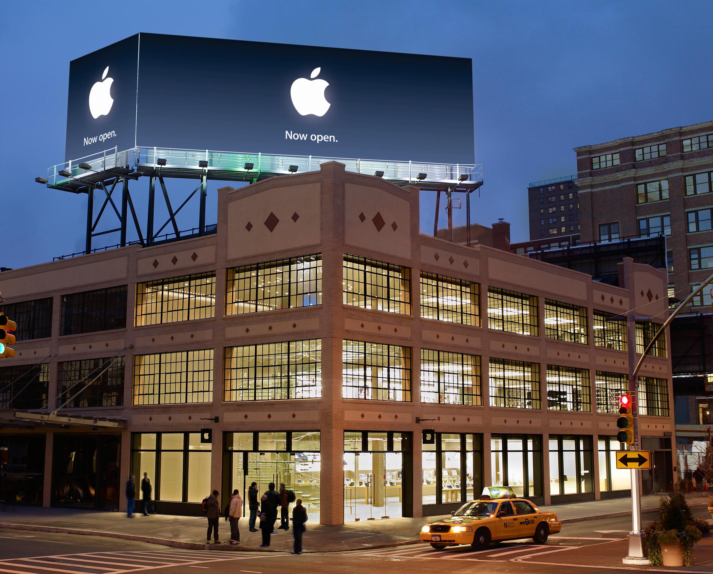 Apple Store West 14th Street | Apple Stores | Pinterest | Soho