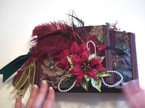Christmas Gate Fold Paper Bag Mini Album Mini Albums Pinterest