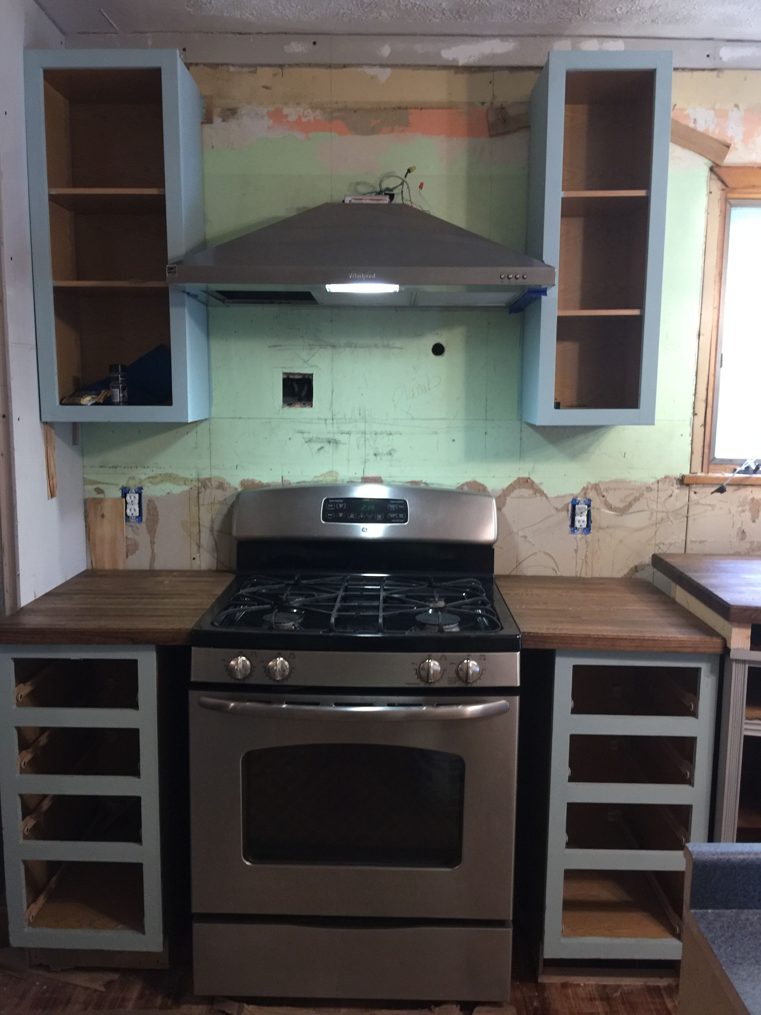 How to Remodel a 20 Year Old Kitchen for Less Than $3,000   kitchen ...