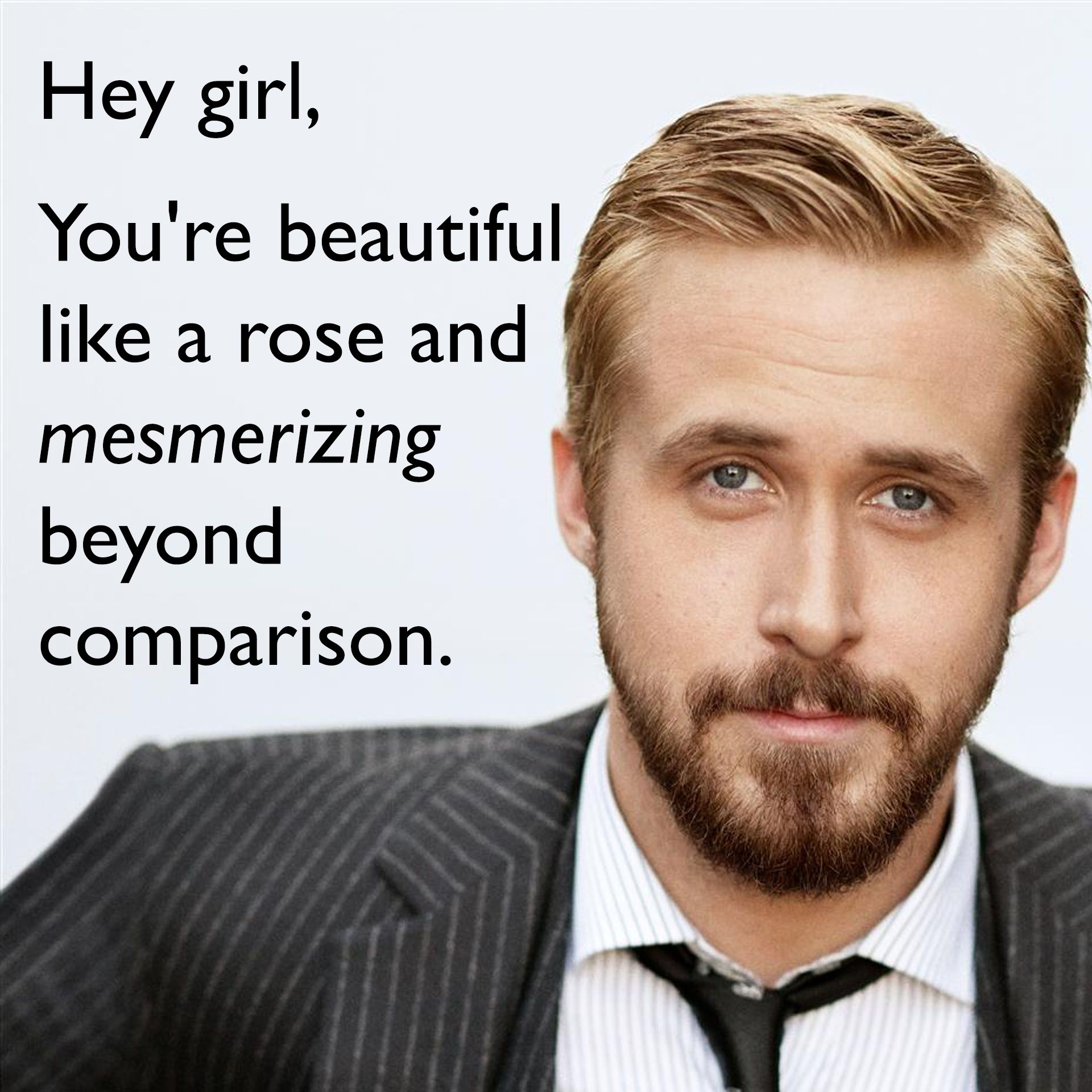 You Are So Beautiful Meme