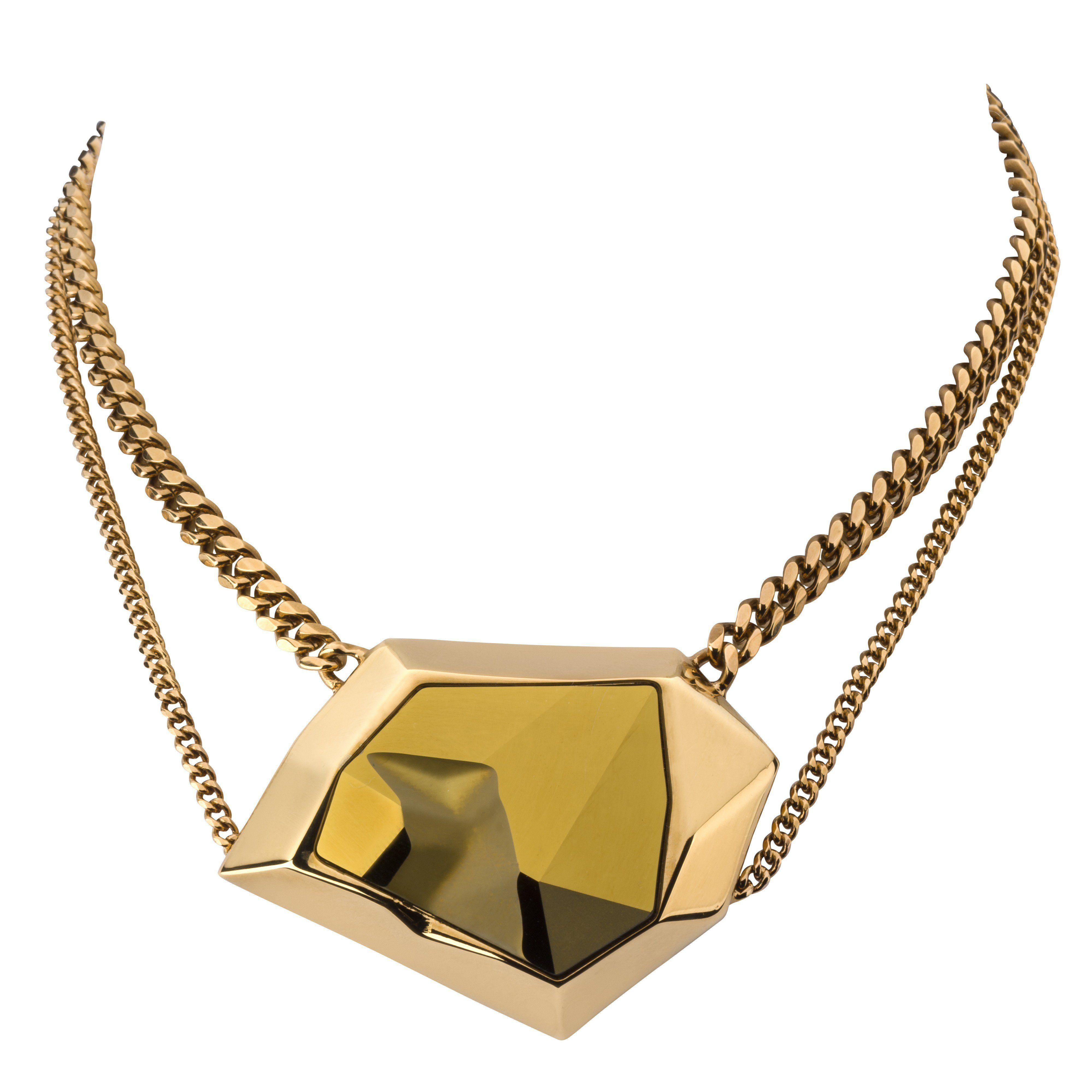 ATELIER SWAROVSKI - Reverse Pendant by Jean Paul Gaultier  statementnecklace 0c791b8544