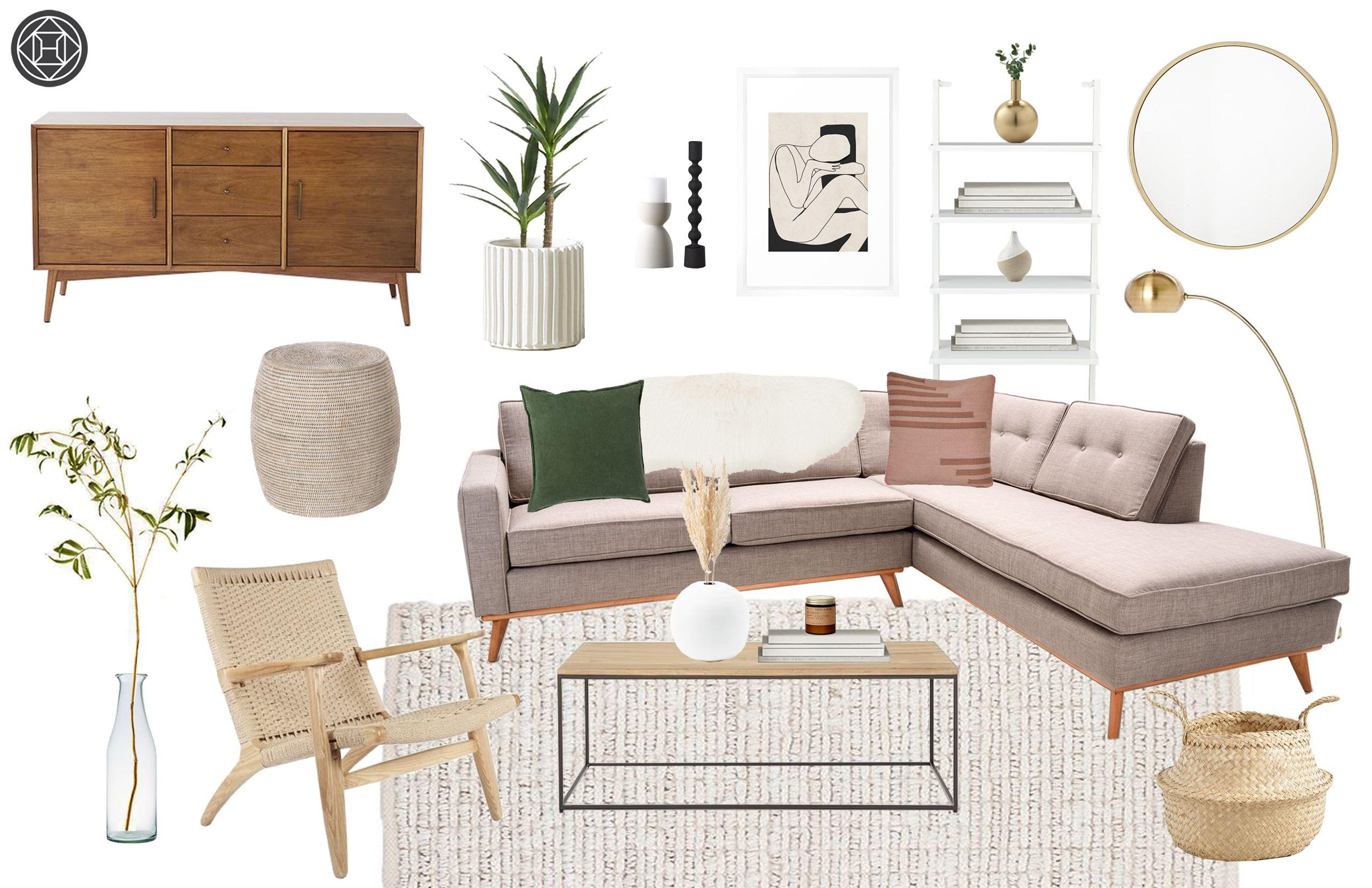 Modern Minimal Room Design By Havenly Interior Designer Leslie Minimal Living Room Living Room Designs Interior Design