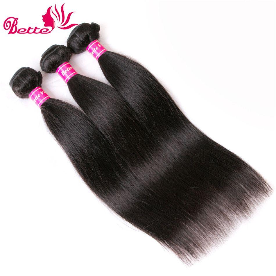7a Mink Brazilian Virgin Hair Straight 3 Bundles Human Hair Weave