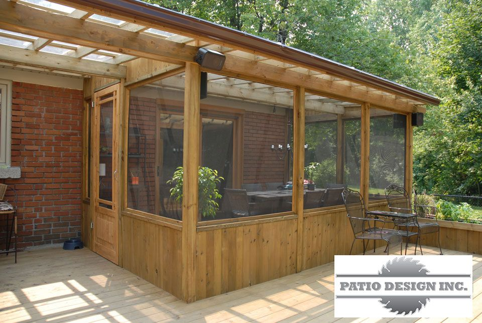 Gaz bo ou pavillon id es ext rieur pinterest for Plan de patio exterieur en bois