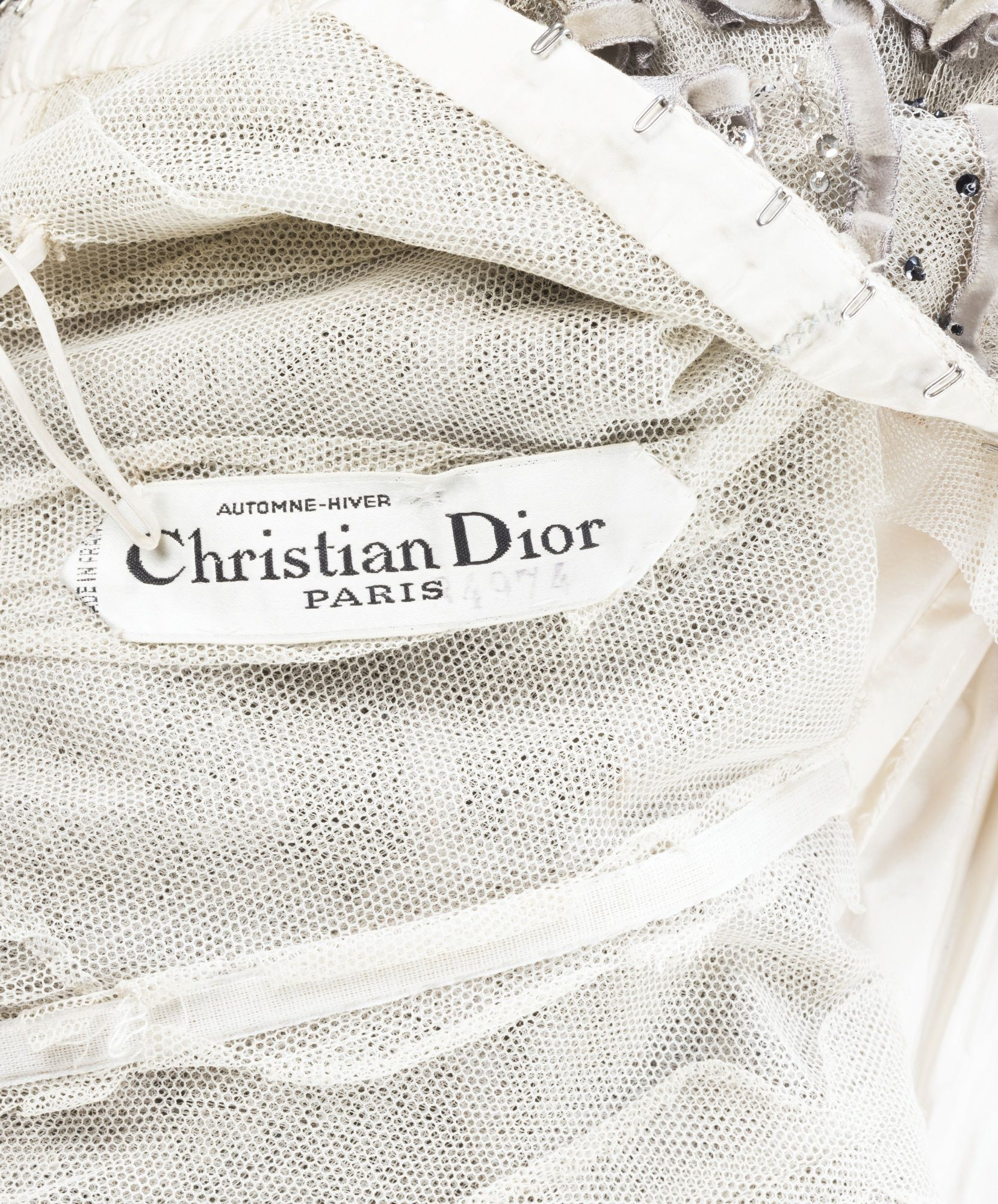 Christian dior haute couture automne hiver 1957 1958 for Haute couture labels