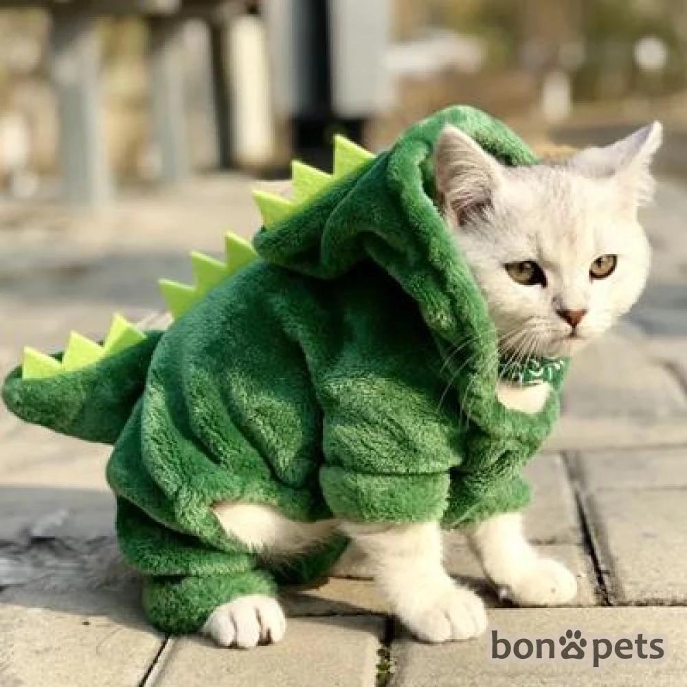Pet Cat Or Dog Funny Clothes Bonapets Com Funny Pet Costumes Pet Costumes Dinosaur Funny