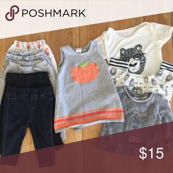 Modern Baby Clothes Baby Baseball Style Dress 12-18mo Long Sleeve Baby Dress Minimalist Baby