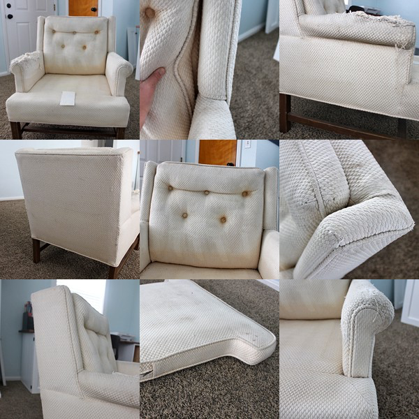 How To Reupholster A Chair Dining Room Chair Cushions Chair