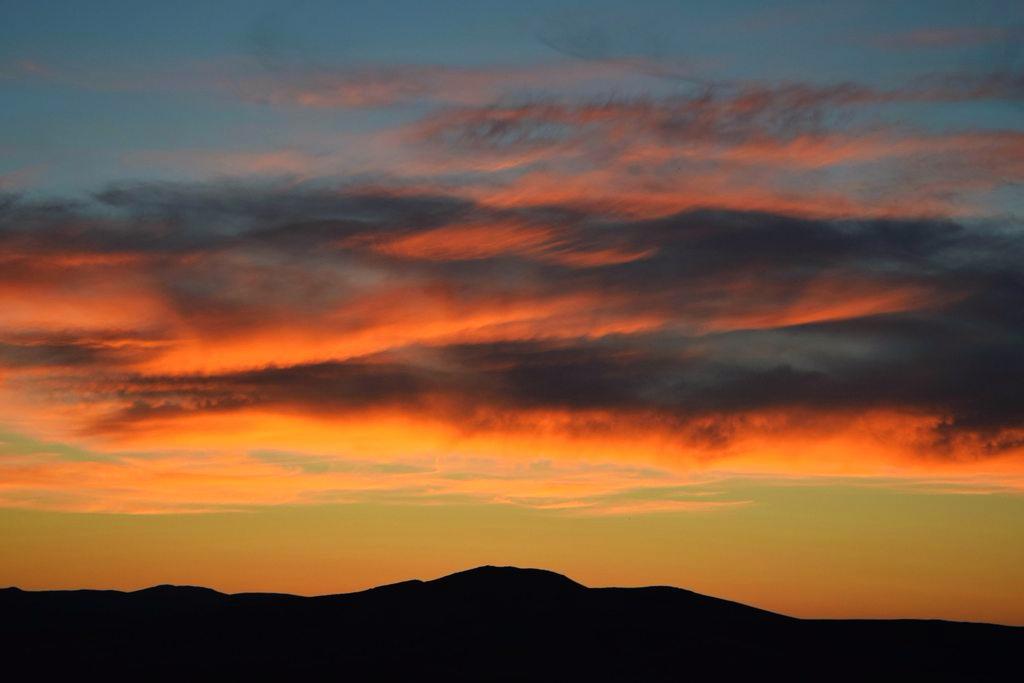 Sunset in Arkhangai Mongolia [OC] [1024x683]