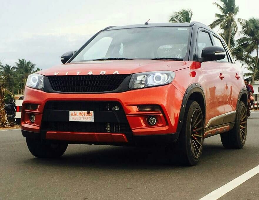 Suzuki Vitara Brezza Beautifully Modified Kerala India