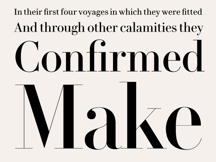Le Jeune / Didot alternative | LETTERING & TYPOGRAPHY