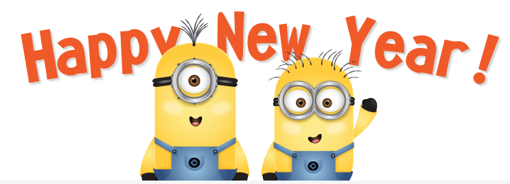 happy new year minion christmas new years background happy new years eve new