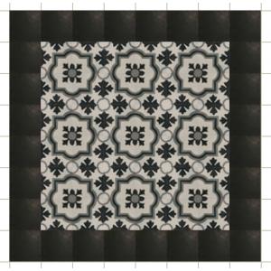 motieftegel cemettegel geometric