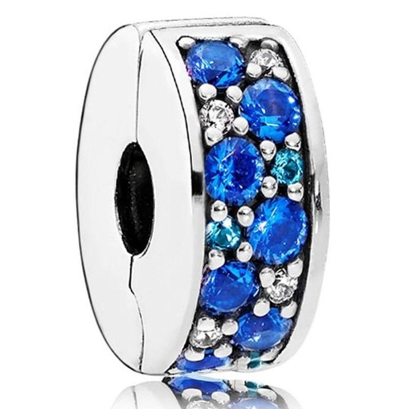 Pandora Women Silver Bead Charm - 791817NSBMX rovVa6qA